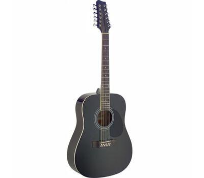 Акустическая 12-струнная гитара Stagg SA40D/12-BK фото 1   Интернет-магазин Bangbang