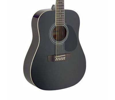 Акустическая 12-струнная гитара Stagg SA40D/12-BK фото 3 | Интернет-магазин Bangbang