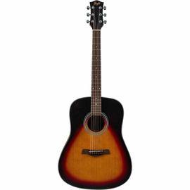 Акустическая гитара Flight D-175 SB фото 1 | Интернет-магазин Bangbang