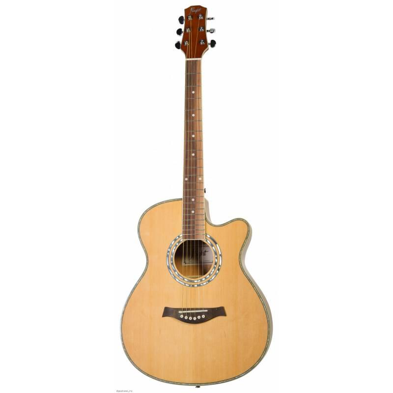 Акустическая гитара FLIGHT F-230C NA фото 1 | Интернет-магазин Bangbang