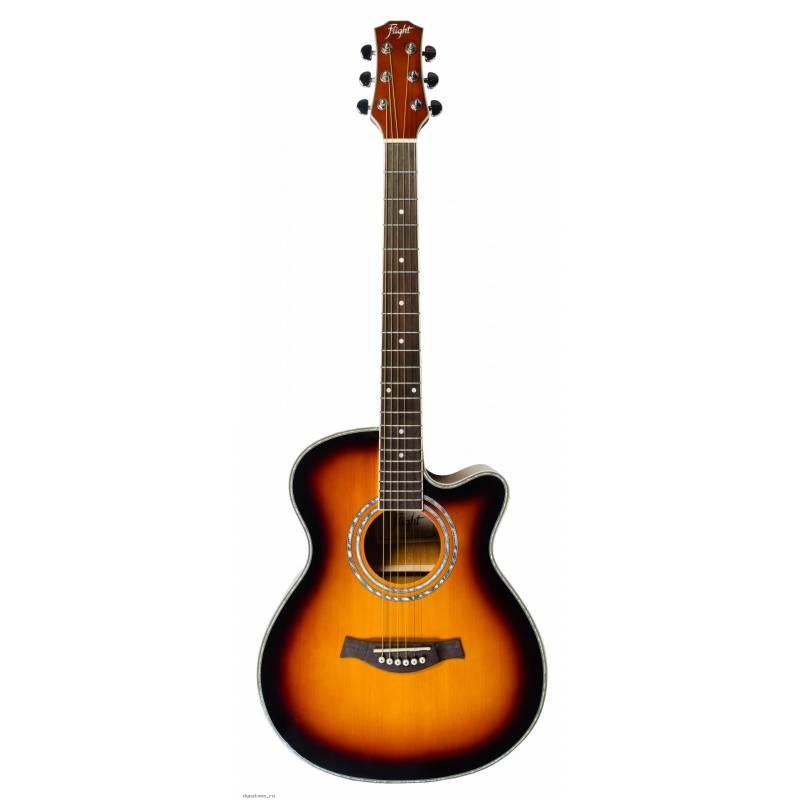 Акустическая гитара FLIGHT F-230C SB фото 1 | Интернет-магазин Bangbang