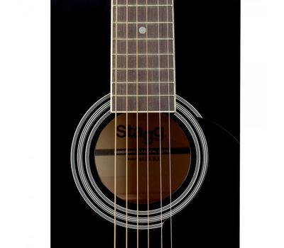 Акустическая гитара Stagg SA20A BLK TRAVEL фото 2 | Интернет-магазин Bangbang