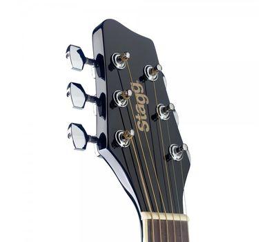Акустическая гитара Stagg SA20A BLK TRAVEL фото 3 | Интернет-магазин Bangbang