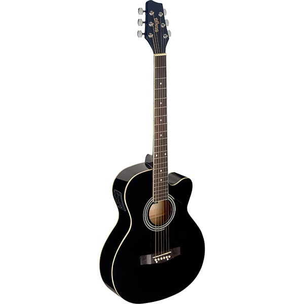 Электро-акустическая гитара Stagg SA20ACE BLK фото 1 | Интернет-магазин Bangbang
