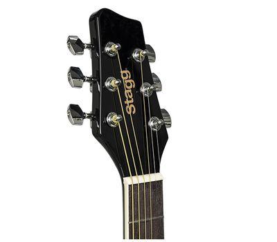 Акустическая гитара Stagg SA20D BLK фото 4 | Интернет-магазин Bangbang