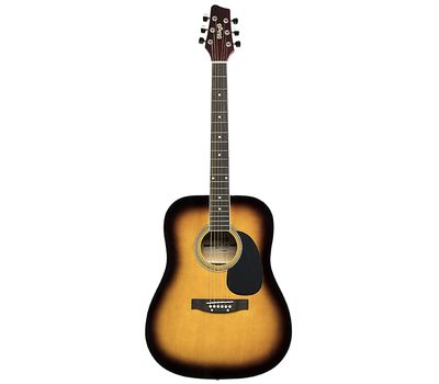 Акустическая гитара Stagg SA20D SNB фото 4 | Интернет-магазин Bangbang