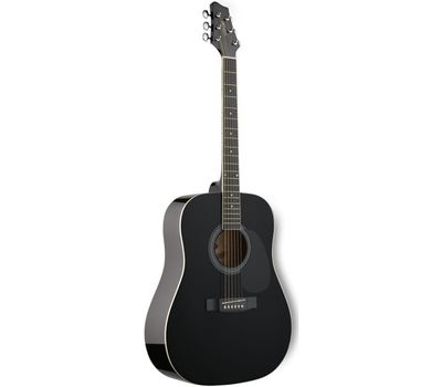 Акустическая гитара Stagg SW201BK фото 1 | Интернет-магазин Bangbang