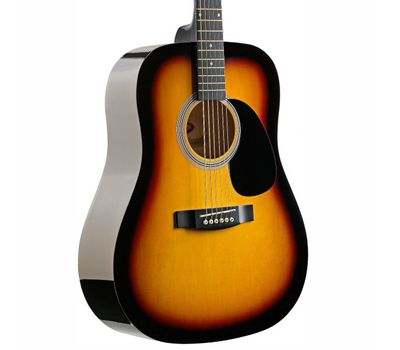 Акустическая гитара Stagg SW201SB фото 3 | Интернет-магазин Bangbang