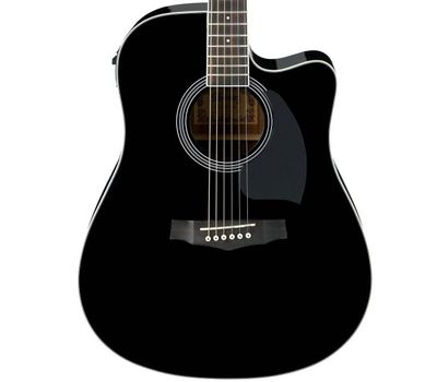 Электро-акустическая гитара ibanez PF15ECE BK фото 2 | Интернет-магазин Bangbang