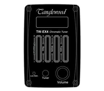 Электро-акустическая гитара Tanglewood TWCR DE фото 5 | Интернет-магазин Bangbang
