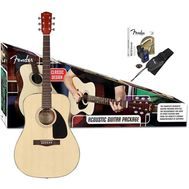 Гитарный комплект Fender CD60 Pack Natural фото 1 | Интернет-магазин Bangbang