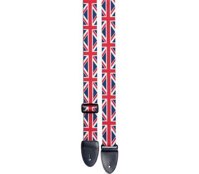Гитарный ремень Stagg STE FLAG UK фото 2   Интернет-магазин Bangbang