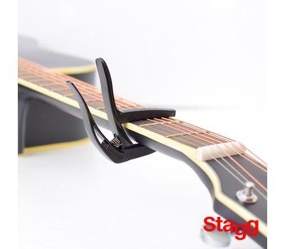 Каподастр для акустической гитары Stagg SCPX-CU CR фото 3 | Интернет-магазин Bangbang