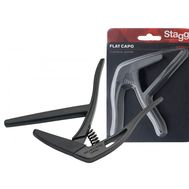 Каподастр для классической гитары Stagg SCPX-FL BK фото 1 | Интернет-магазин Bangbang