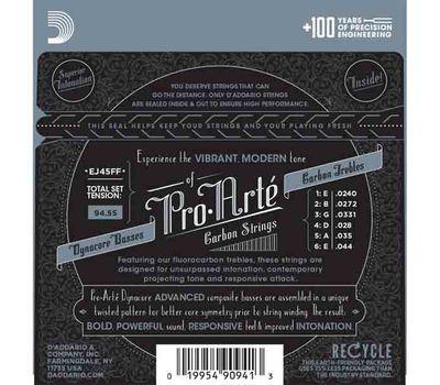 Карбоновые струны для классической гитары D'addario EJ45 FF фото 2 | Интернет-магазин Bangbang