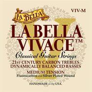 Карбоновые струны для классической гитары La Bella VIV-M фото 1 | Интернет-магазин Bangbang