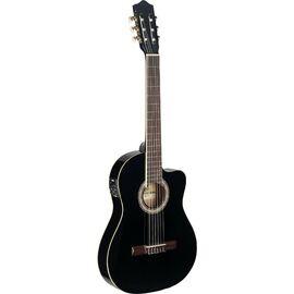 Классическая электроакустическая гитара Stagg C546 TCE-BK фото 1 | Интернет-магазин Bangbang