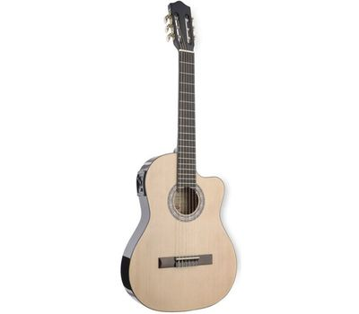Классическая электроакустическая гитара Stagg C546 TCE-N фото 1 | Интернет-магазин Bangbang