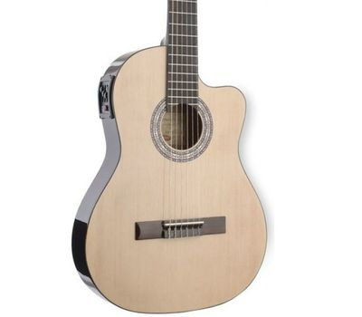 Классическая электроакустическая гитара Stagg C546 TCE-N фото 3 | Интернет-магазин Bangbang