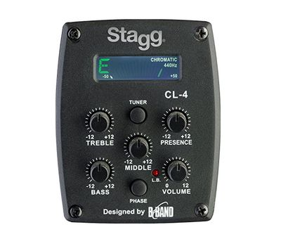 Классическая электроакустическая гитара Stagg C546 TCE-N фото 6 | Интернет-магазин Bangbang