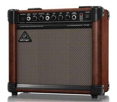 Комбоусилитель для электроакустической гитары Behringer AT108 фото 3 | Интернет-магазин Bangbang