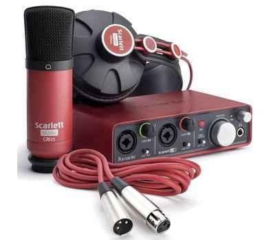 Комплект для звукозаписи Focusrite Scarlett 2i2 Studio 2Gen фото 1 | Интернет-магазин Bangbang