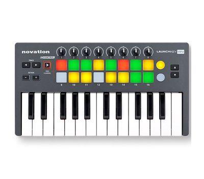 MIDI-клавиатура Novation Launchkey Mini фото 1 | Интернет-магазин Bangbang