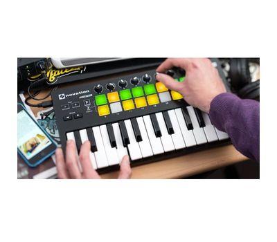 MIDI-клавиатура Novation Launchkey Mini фото 4 | Интернет-магазин Bangbang