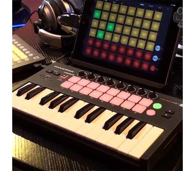 MIDI-клавиатура Novation Launchkey Mini фото 5 | Интернет-магазин Bangbang
