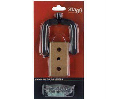 Настенный держатель для гитары Stagg GUH-WN REC фото 3 | Интернет-магазин Bangbang