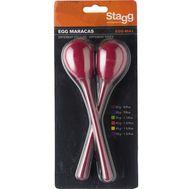 Пластиковые маракасы Stagg EGG-MA L/RD фото 1 | Интернет-магазин Bangbang