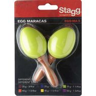 Пластиковые маракасы Stagg EGG-MA S/GR фото 1 | Интернет-магазин Bangbang