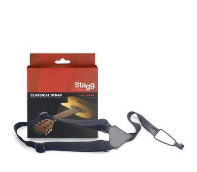 Ремень для классической гитары Stagg SNCL001-BK фото 1 | Интернет-магазин Bangbang