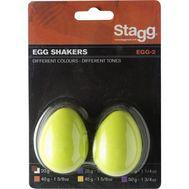 Шейкер - яйцо Stagg Egg-2 GR фото 1 | Интернет-магазин Bangbang