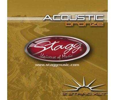 Струны для 12-и струнной гитары Stagg AC-12ST-BR (10-47) фото 1 | Интернет-магазин Bangbang
