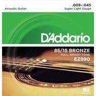 Струны для акустической гитары D'addario EZ890 фото 1 | Интернет-магазин Bangbang