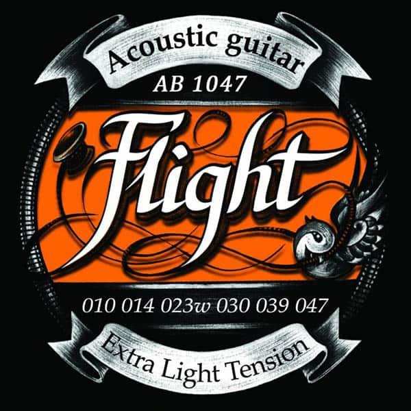 Струны для акустической гитары FLIGHT AB1047 фото 1 | Интернет-магазин Bangbang