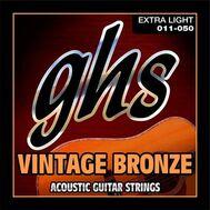 Струны для акустической гитары GHS VN-XL (11-50) фото 1 | Интернет-магазин Bangbang