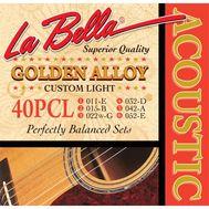 Струны для акустической гитары La Bella 40PCL 11-52 фото 1 | Интернет-магазин Bangbang