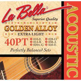 Струны для акустической гитары La Bella 40PT 10-50 фото 1 | Интернет-магазин Bangbang