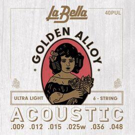 Струны для акустической гитары La Bella 40PUL фото 1 | Интернет-магазин Bangbang