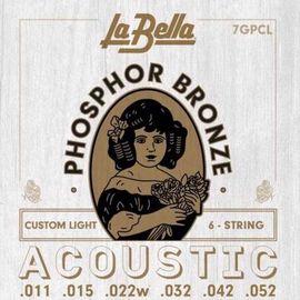 Струны для акустической гитары La Bella 7GPCL 11-52 фото 1   Интернет-магазин Bangbang