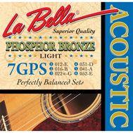 Струны для акустической гитары La Bella 7GPS 12-52 фото 1 | Интернет-магазин Bangbang