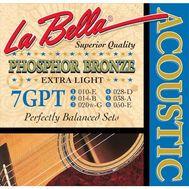 Струны для акустической гитары La Bella 7GPT 10-50 фото 1 | Интернет-магазин Bangbang