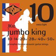 Струны для акустической гитары Rotosound JK10 фото 1 | Интернет-магазин Bangbang