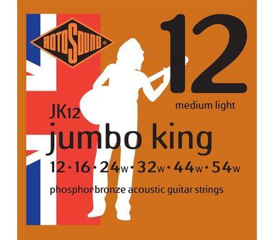 Струны для акустической гитары Rotosound JK12 (12-54) фото 1 | Интернет-магазин Bangbang