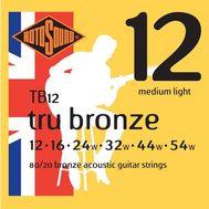 Струны для акустической гитары Rotosound TB12 фото 1 | Интернет-магазин Bangbang