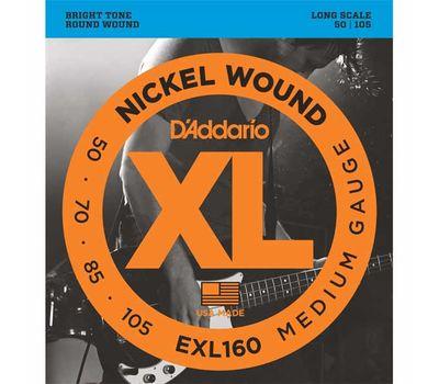Струны для бас-гитары D'addario EXL160 фото 1   Интернет-магазин Bangbang