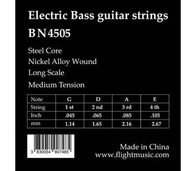 Струны для бас-гитары FLIGHT BN4505 фото 2 | Интернет-магазин Bangbang
