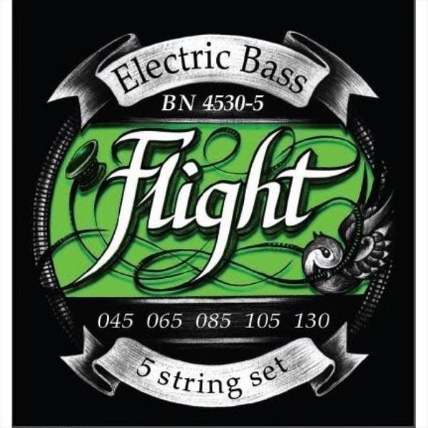 Струны для бас-гитары FLIGHT BN4530-5 фото 1 | Интернет-магазин Bangbang